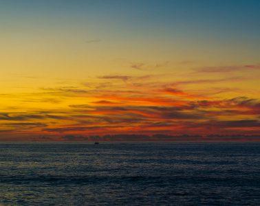 Sonnenuntergang am Hafen von Essaouira