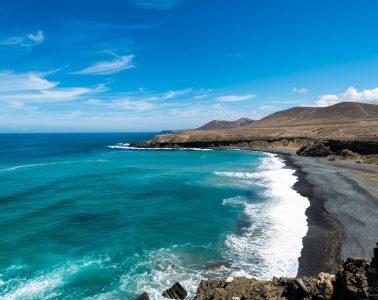 Küste im Westen von Fuerteventura
